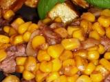 Vepřové plátky na česneku a kukuřici recept
