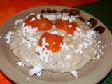 Ovesná kaše s meruňkami a tvarohem recept