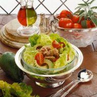Avokádový salát s lopinem recept
