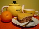 Vločkový koláč v pomerančovém kabátku recept