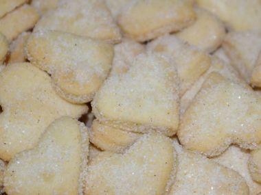 Křehké šlehačkové cukroví