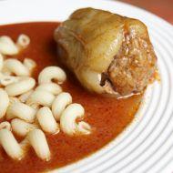 Plněná paprika s rajskou omáčkou recept