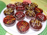 Kakaové muffiny s červenou řepou recept