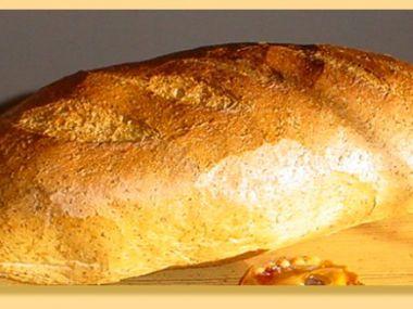 Chlebový dort s tvarohem