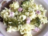 Těstoviny s brokolicí a uzeným masem recept