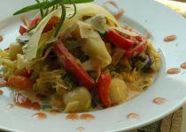 Hřib kovář v zelenině na způsob leča recept