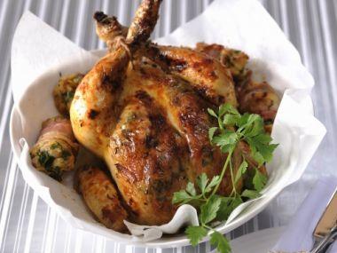 Pečené kuře na česneku