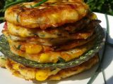 Kukuřičné placičky se sýrem recept