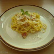 Špagety alla carbonara recept