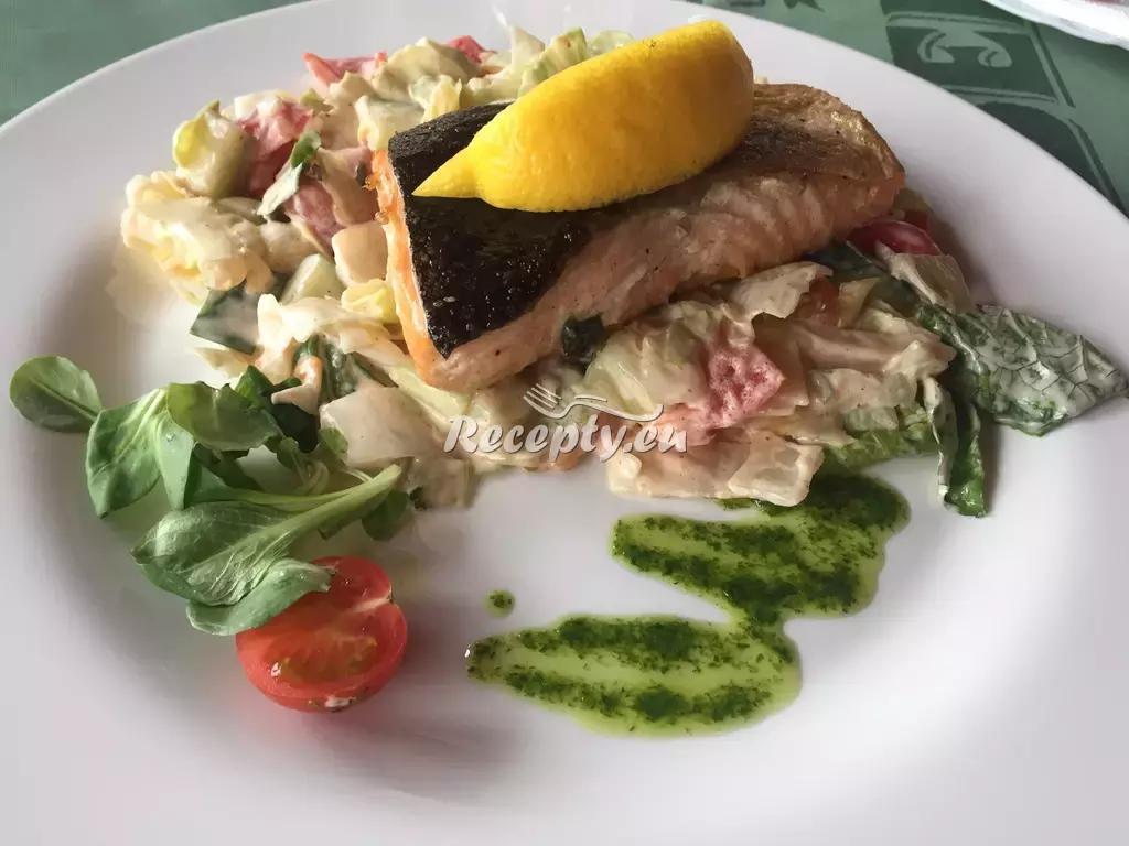 Mořský ďas se zeleninou recept  ryby