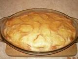 Žemlovka s tvarohem, jablky, banánem a skořicí recept ...