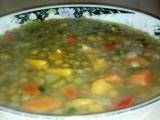 Čočková polévka-special recept