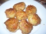 Cuketovo  sýrové kroketky recept