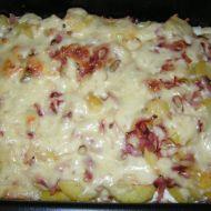 Zapečené brambory s nivou recept