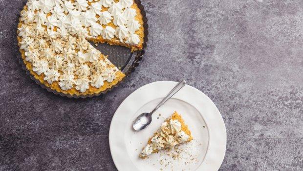 Lehký a svěží mrkvový dort