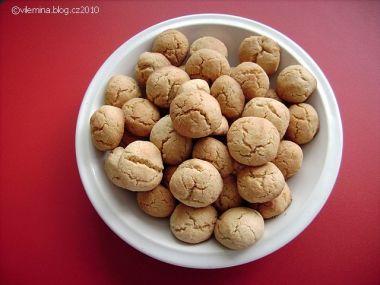 Arašidové cookies od Vilemíny