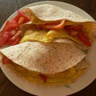 Tortilla s tuňákem a vejci recept