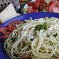 Špagety s parmazánovou omáčkou recept