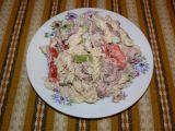 Jirkův salát s uzeným kaprem recept