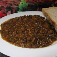 Guláš z václavek recept