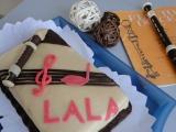 Hudební dort recept