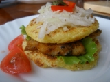 Pangass pod brambo-mráčkem alá hamburger recept