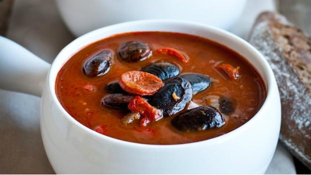 Pikantní fazolová polévka