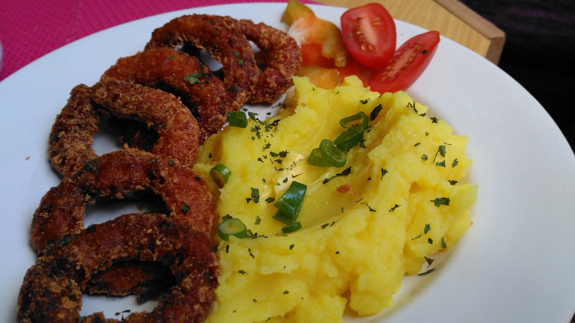 Chilli smažené cibulové kroužky recept