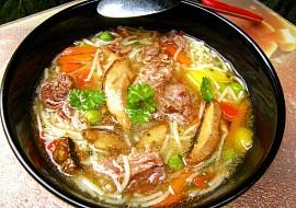 Hovězí polévka přesnídávková recept