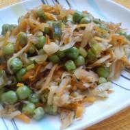 Zeleninová čína bez masa recept