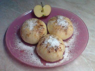 Kynuté knedlíky s jablky  BLBOUNI