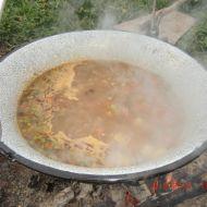 Čočková polévka na ohni recept