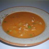Gulášová polévka z vepřového masa recept