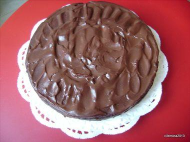 Čokoládový dort s červenou řepou od Vilemíny