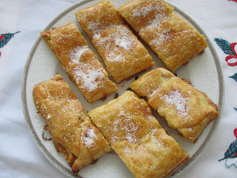 Jablečný bezlepkový závin recept