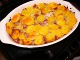 Šunkofleky s brambory recept
