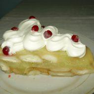 Nepečený dort s jablkovým pudinkem recept