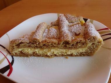 Špaldový mřížkový koláč