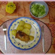 Kuře s houbovou nádivkou recept