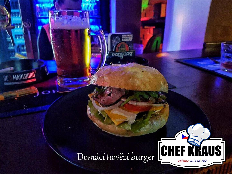 Domácí hovězí burger od Chefkraus recept