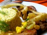 Vepřové medailonky s fenyklem a kukuřicí recept