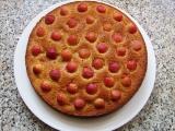 Třešňovo-mandlový koláč recept