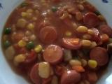 Baskické fazole recept