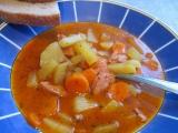 Gulášová polévka z pytlíku recept