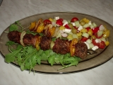 Grilované kuličky z mletého masa recept