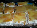 Ovocný dortík na plech recept