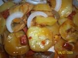 Myslivecké brambory recept