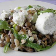 Čočkovo-kroupový salát recept
