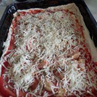 Domácí pizza z listového těsta recept