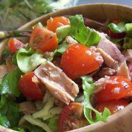 Lehký salát s tuňákem recept